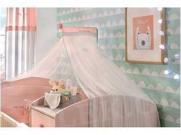 Βρεφική κουνουπιέρα GIRL-4916