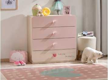 Βρεφική συρταριέρα GIRL- 1203