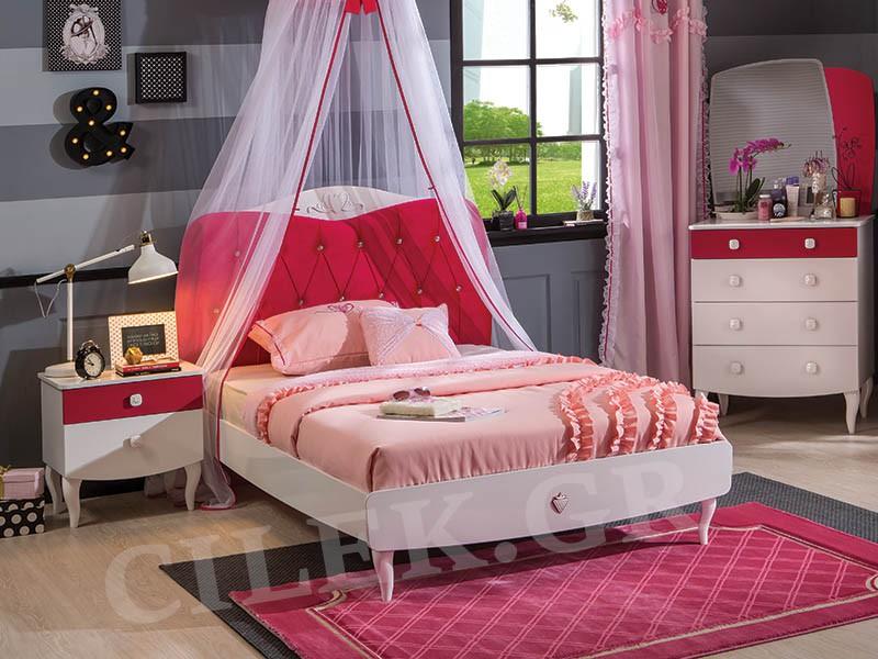 Παιδικό κρεβάτι μονό RB-1311 – RB-1311
