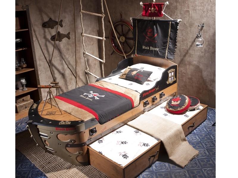 Παιδικό κρεβάτι καράβι KS-1308