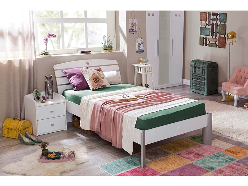 Παιδικό Κρεβάτι ημίδιπλο SLA-1304