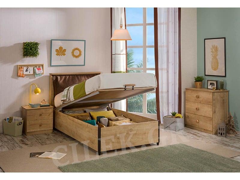 Παιδικό κρεβάτι με αποθηκευτικό χώρο MO-1705 – MO-1705
