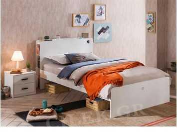 Παιδικό κρεβάτι ημίδιπλο WH-1302