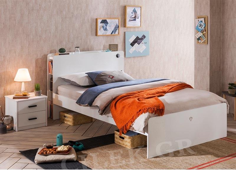 Παιδικό κρεβάτι ημίδιπλο WH-1302 – WH-1302