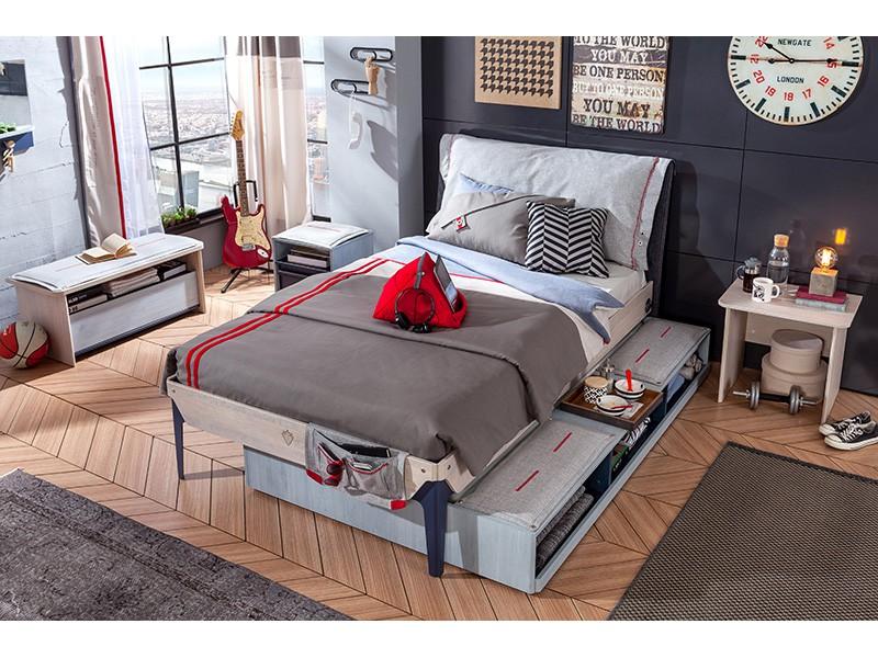 Παιδικό κρεβάτι ημιδιπλο TR-1302