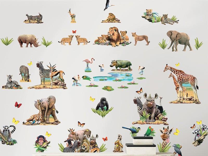 Sticker Safari Jungle- 45439