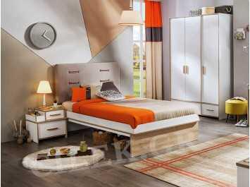 Παιδικό κρεβάτι ημίδιπλο DY-1304
