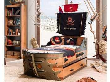 Παιδικό κρεβάτι καράβι KS-1310
