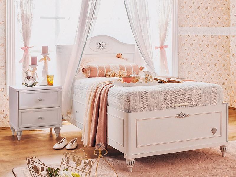 Παιδικό κρεβάτι με αποθηκευτικό χώρο  RO-1705