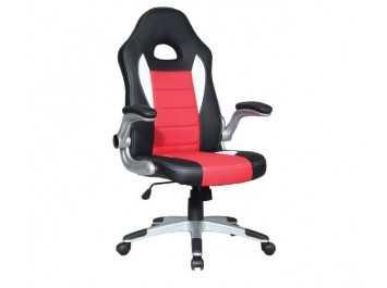 Παιδική καρέκλα γραφείου BS-9200 ΜΑΥΡΟ-ΚΟΚΚΙΝΟ