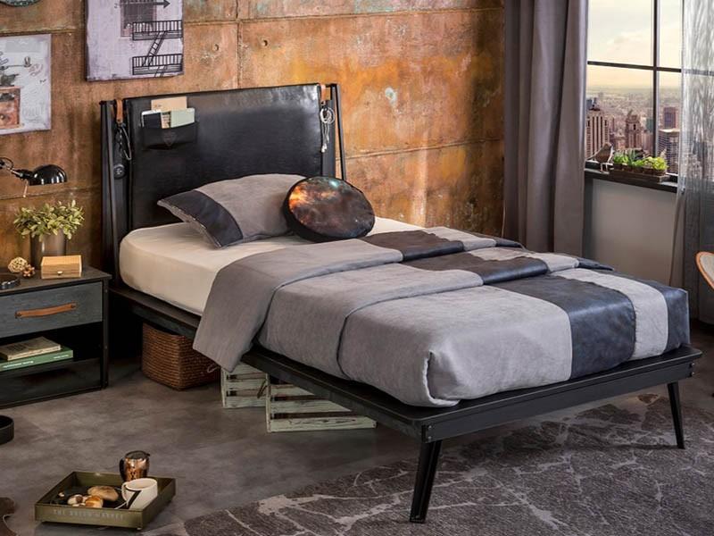 Παιδικό κρεβάτι ημίδιπλο DM-1308 – DM-1308