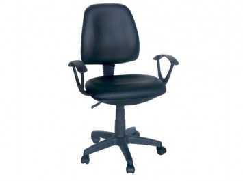 Παιδική καρέκλα BA-75004 (Δερματίνη Μαύρη)
