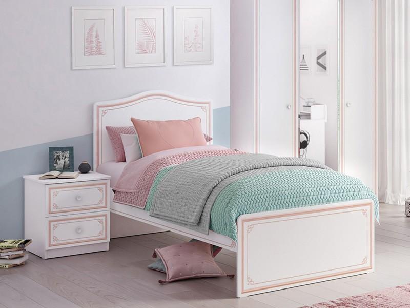 Παιδικό κρεβάτι ημίδιπλο SE-PINK-1302 – SE-PINK-1302