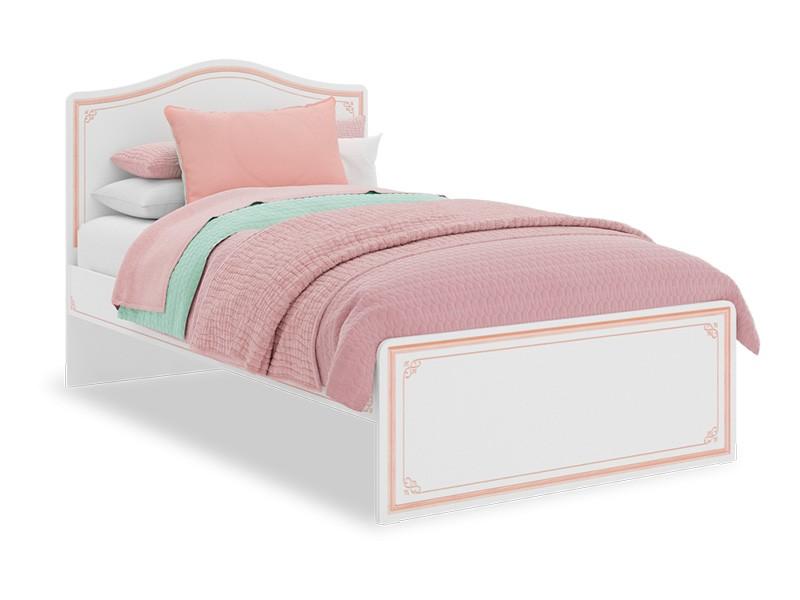 Παιδικό κρεβάτι ημίδιπλο SE-PINK-1302