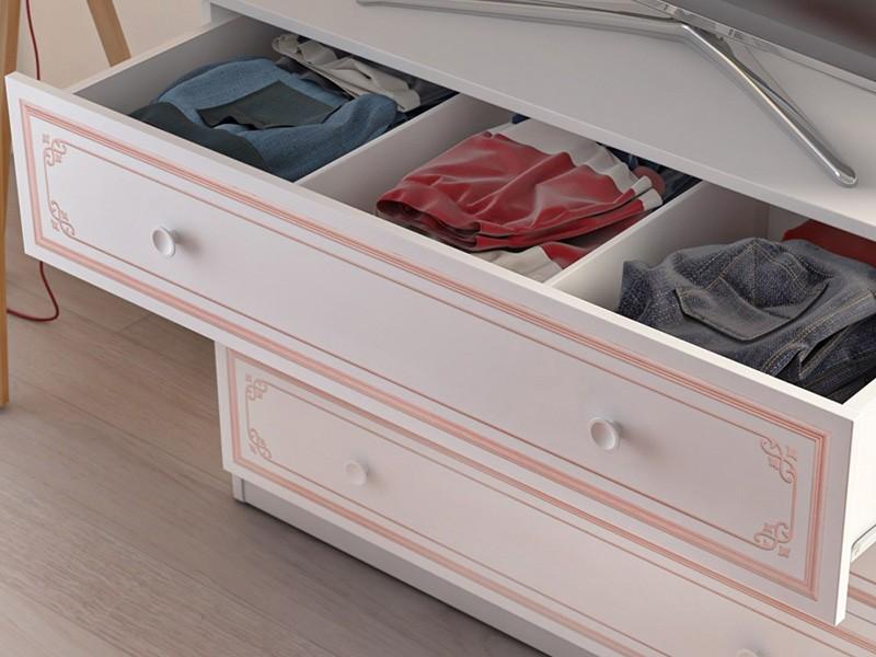 Παιδική συρταριέρα SE-PINK-1202