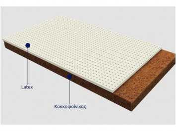 Βρεφικό στρώμα COCOLATEX  0.74 Χ 1.30