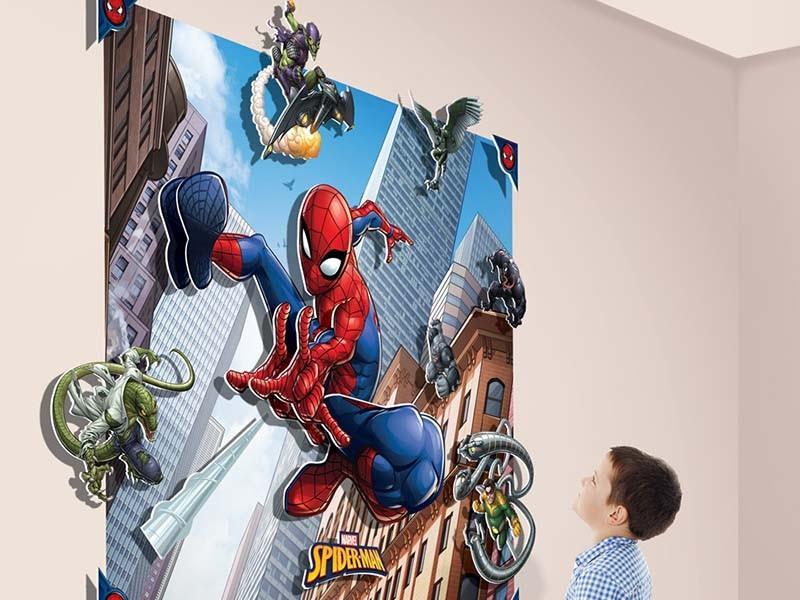 3D ΠΑΙΔΙΚΗ ΦΩΤΟΤΑΠΕΤΣΑΡΙΑ SPIDERMAN 23929