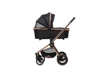 Καρότσι Stroller 3 in 1 Vicenza Premium Black