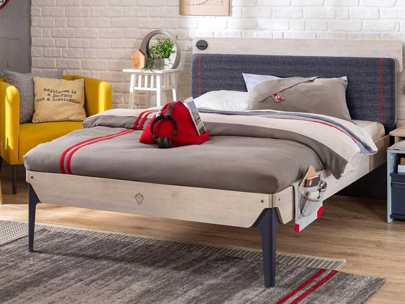 Παιδικό κρεβάτι ημιδιπλο TR-1312 USB CHARGING | Cilek