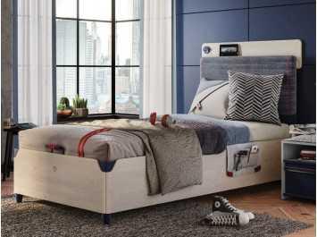 Παιδικό κρεβάτι με αποθηκευτικό χώρο TR-1706 USB CHARGING