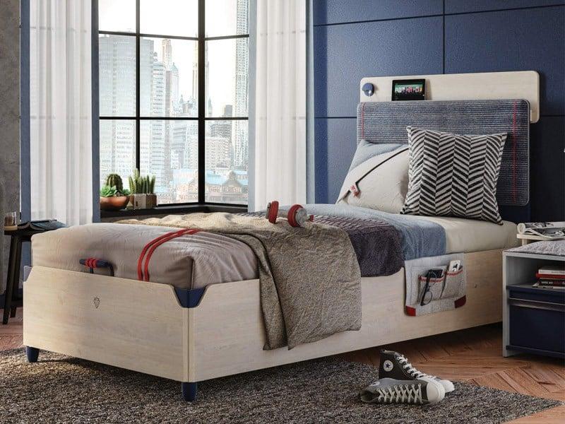 Παιδικό κρεβάτι με αποθηκευτικό χώρο TR-1707 USB CHARGING | Cilek