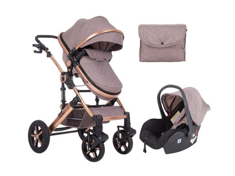 Stroller 3 in 1 Darling Beige
