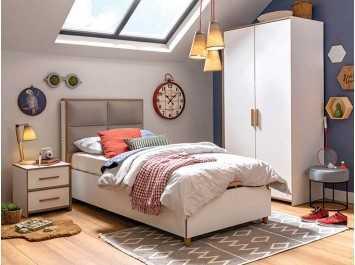 Παιδικό Κρεβάτι με αποθηκευτικό χώρο MD-1707 USB CHARGING