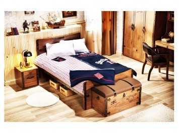 Παιδικό κρεβάτι ημιδιπλο KS-1315