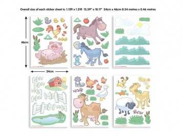 Sticker Fun on Farm - 41066