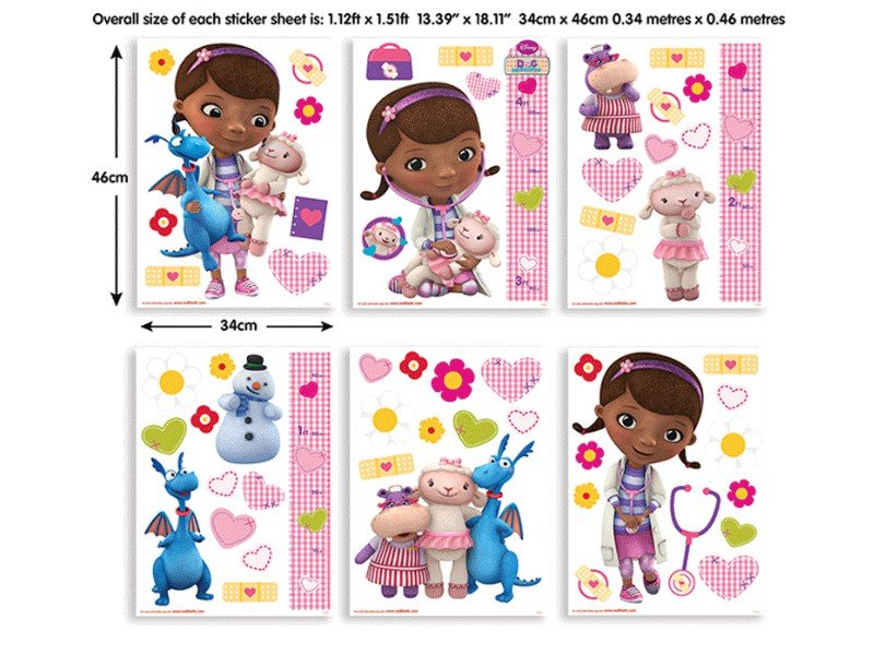 Sticker Doc McStuffins - 41516