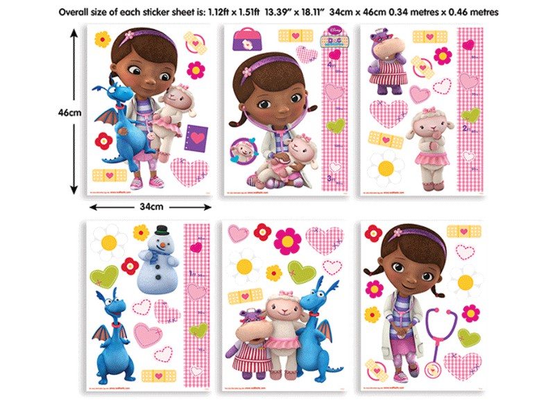 Sticker Doc McStuffins – 41516 – Sticker Doc McStuffins – 41516