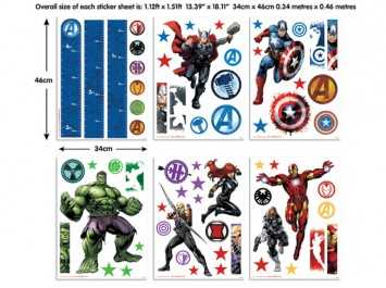 Sticker Marvel Heroes - 43138