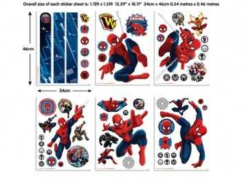 Sticker Spiderman - 43145