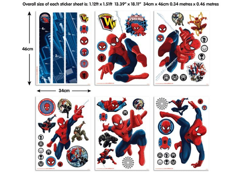 Sticker Spiderman – 43145