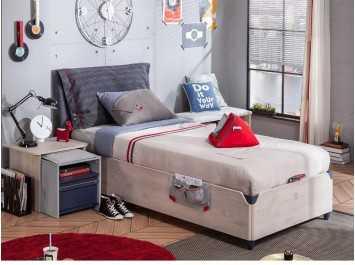 Παιδικό κρεβάτι με αποθηκευτικό χώρο  TR-1705