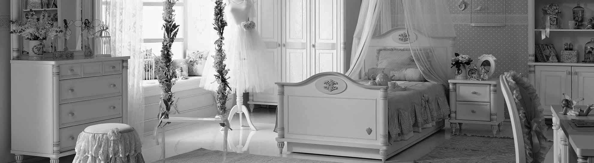 παιδικο δωματιο romantic